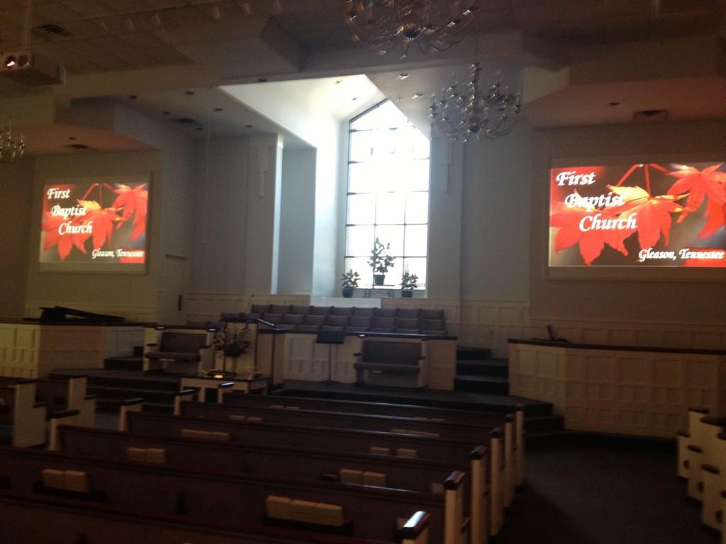 First Baptist Church, Gleason, TN