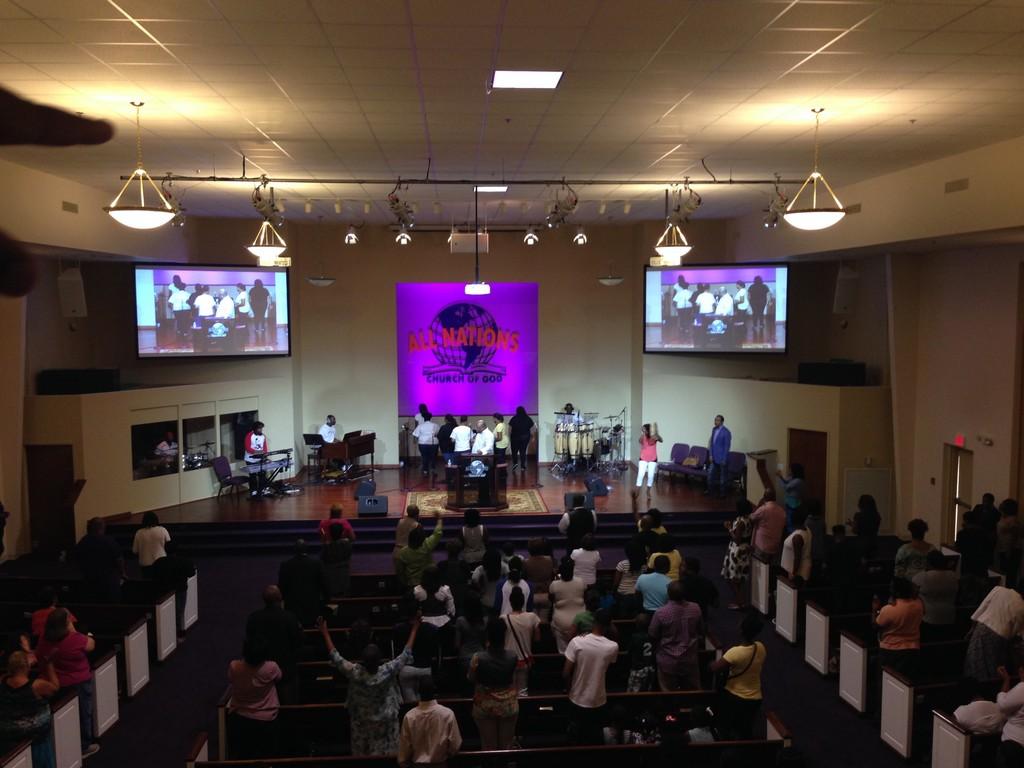 All Nations Church of God, Jackson, TN